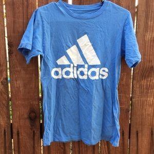 adidas Tops - Adidas Blue Workout Shirt Small Women